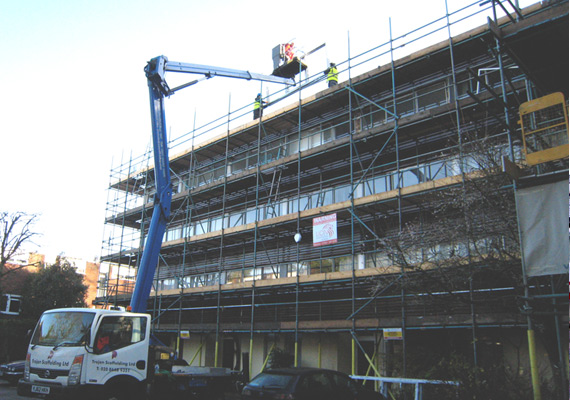 Cherry Picker Hire From Trojan Scaffolding
