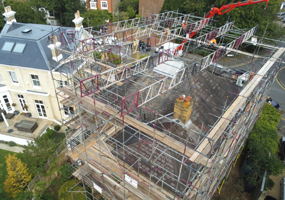 Scaffolding Services for Domestic Projects